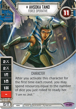 Ahsoka Tano - Force Operative