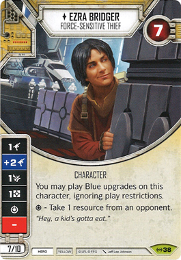 Ezra Bridger - Force sensitive Thief