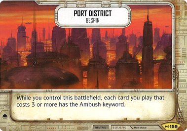 Port District | Game Haven
