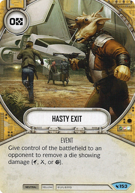 Hasty Exit | Game Haven