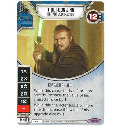 Qui-Gon Jinn - Defiant Jedi Master | Game Haven