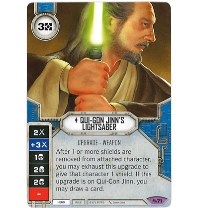 Qui-Gon Jinn's Lightsaber | Game Haven