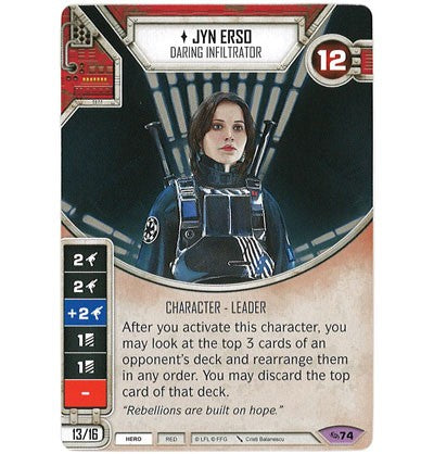 Jyn Erso - Daring Infiltrator | Game Haven