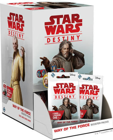 Star Wars Destiny: Way of the Force Booster Box - FREE SHIPPING!
