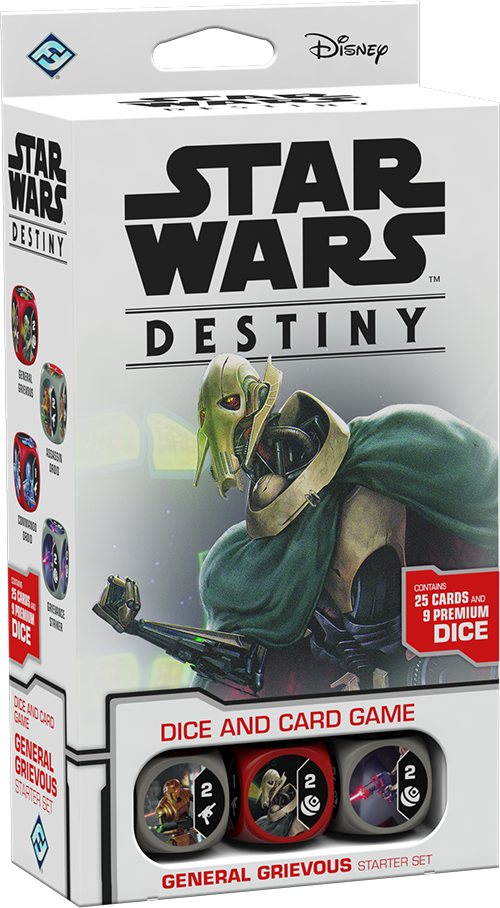 Star Wars Destiny: General Grievous Starter Set | Game Haven