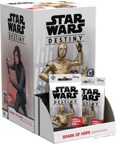 Star Wars Destiny: Spark of Hope Booster Box - FREE SHIPPING!