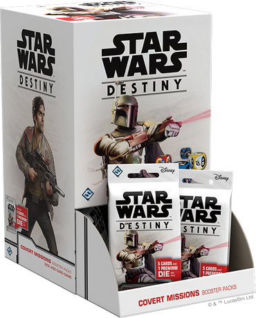 Star Wars Destiny: Covert Missions Booster Box - FREE SHIPPING!