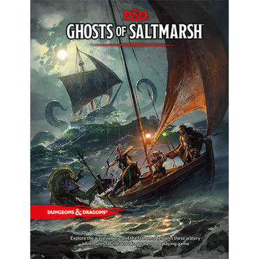 Dungeons & Dragons 5th Edition RPG: Ghosts of Saltmarsh