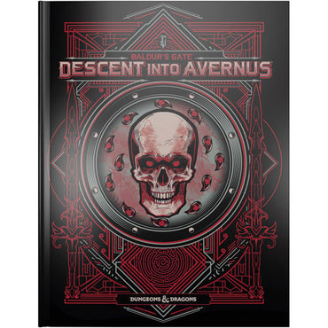 Dungeons & Dragons 5th Edition RPG: Baldur's Gate - Descent Into Avernus (Alternate Cover)