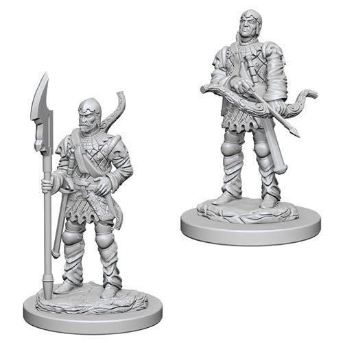 Pathfinder Battles Deep Cuts Miniatures: Town Guards | Game Haven