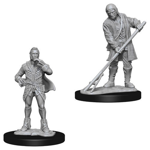 Pathfinder Battles Deep Cuts Miniatures: Towns People (Farmer/Aristocrat) | Game Haven