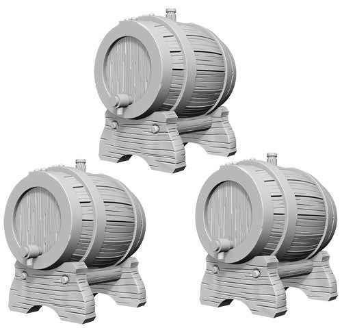 Wizkids Deep Cuts Miniatures: Keg Barrels | Game Haven