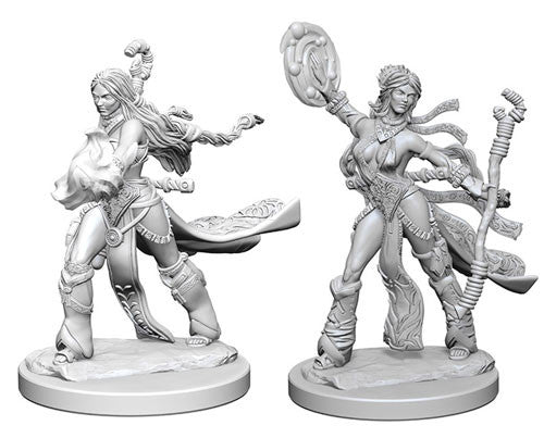 Pathfinder Battles Deep Cuts Miniatures: Human Female Sorcerer | Game Haven