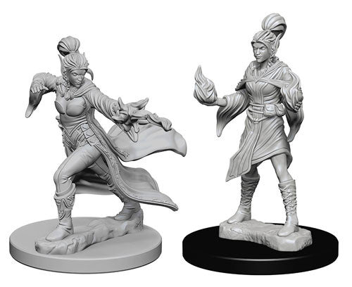 Pathfinder Battles Deep Cuts Miniatures: Elf Female Sorcerer | Game Haven