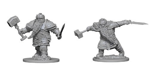 D&D Nolzur's Marvelous Miniatures: Dwarf Male Fighter | Game Haven