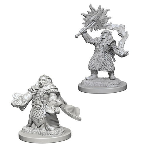 D&D Nolzur's Marvelous Miniatures: Dwarf Female Cleric