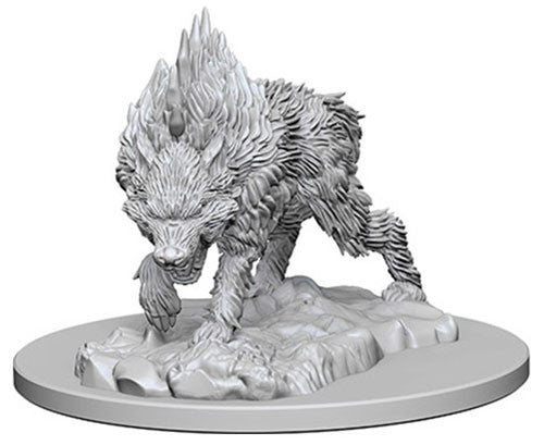 Pathfinder Battles Deep Cuts Miniatures: Dire Wolf | Game Haven