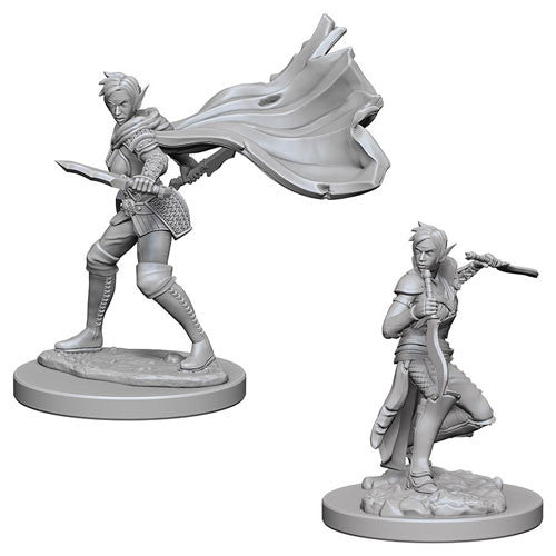 Pathfinder Battles Deep Cuts Miniatures: Elf Female Rogue | Game Haven