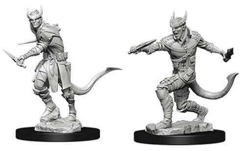 D&D Nolzur's Marvelous Miniatures: Tiefling Male Rogue | Game Haven