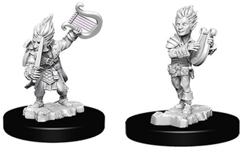 Pathfinder Battles Deep Cuts Miniatures: Gnome Male Bard | Game Haven