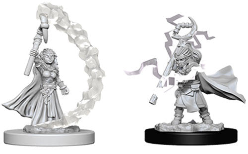 Pathfinder Battles Deep Cuts Miniatures: Gnome Female Sorcerer | Game Haven