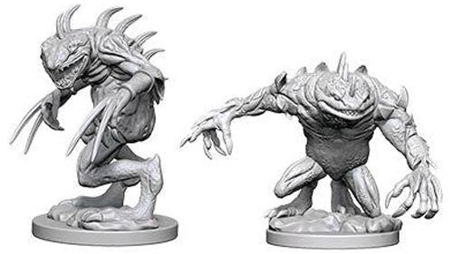 D&D Nolzur's Marvelous Miniatures: Grey Slaad & Death Slaad | Game Haven