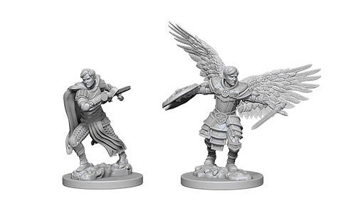 D&D Nolzur's Marvelous Miniatures: Aasimar Male Fighter | Game Haven