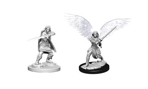 D&D Nolzur's Marvelous Miniatures: Aasimar Female Fighter