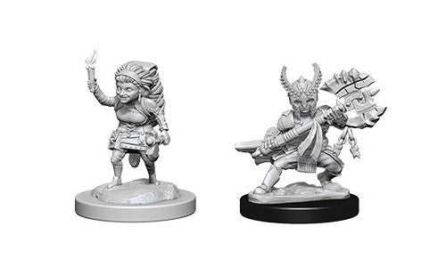 D&D Nolzur's Marvelous Miniatures: Halfling Female Fighter