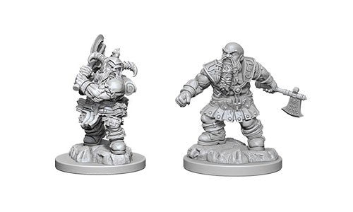 D&D Nolzur's Marvelous Miniatures: Dwarf Male Barbarian