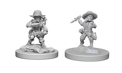 Pathfinder Battles Deep Cuts Miniatures: Halfling Male Rogue | Game Haven