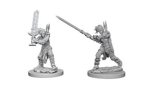 Pathfinder Battles Deep Cuts Miniatures: Human Female Barbarian | Game Haven