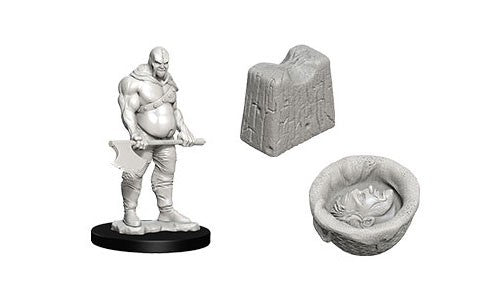 Wizkids Deep Cuts Miniatures: Executioner & Chopping Block | Game Haven