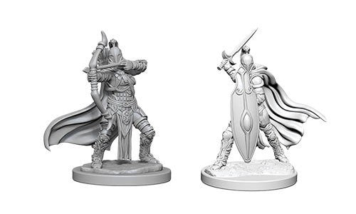Pathfinder Battles Deep Cuts Miniatures: Female Knights & Gray Maidens | Game Haven