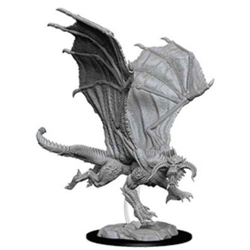 D&D Nolzur's Marvelous Miniatures: Young Black Dragon | Game Haven