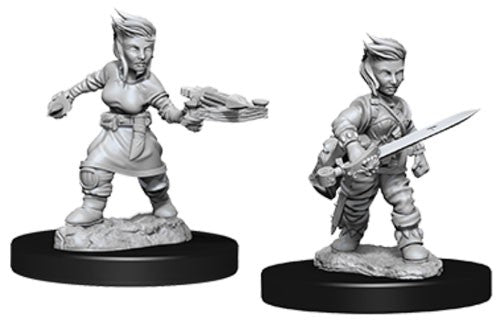 Pathfinder Battles Deep Cuts Miniatures: Halfling Female Rogue | Game Haven