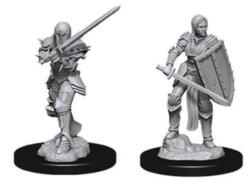 D&D Nolzur's Marvelous Miniatures: Human Female Fighter | Game Haven