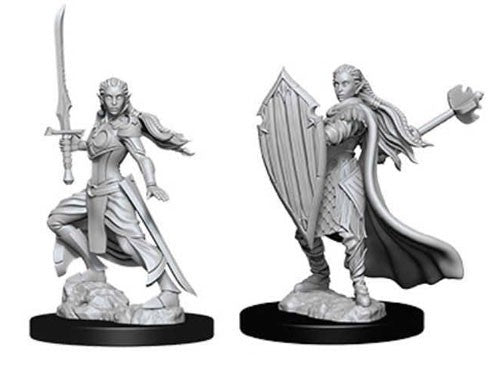 D&D Nolzur's Marvelous Miniatures: Elf Female Paladin | Game Haven