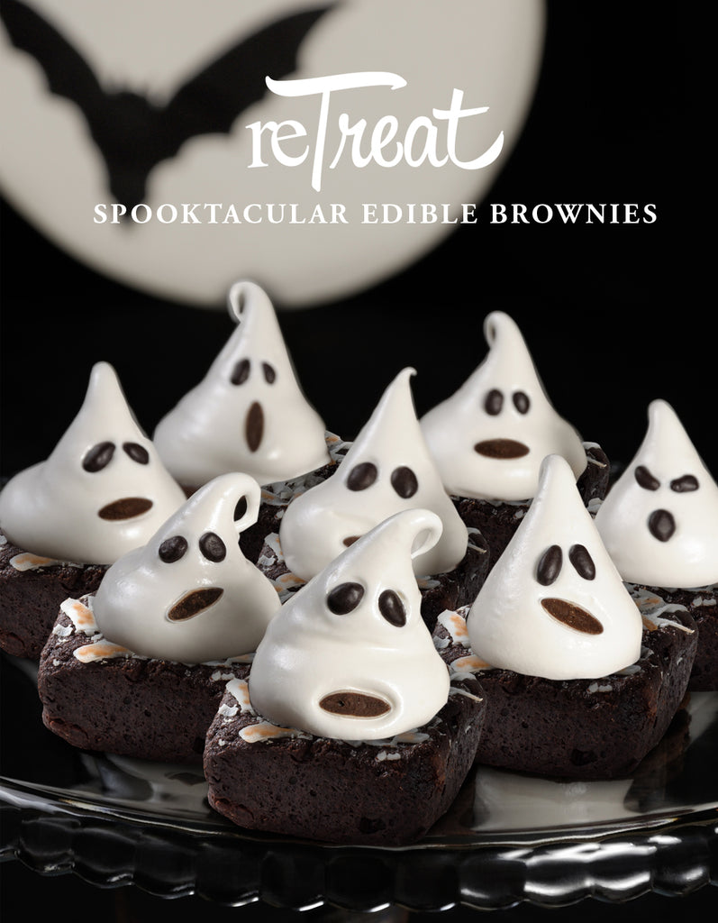"ReTreat ""Groan-Up"" Halloween edible brownies."