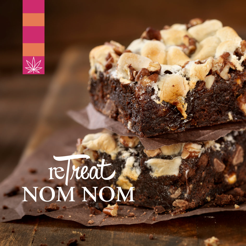 CAUTION! Delicious Rocky Road edibles ahead.