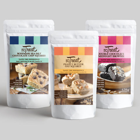 Sale - Make your own marijuana edibles. 3 Premium Baking Mixes - Variety Pack