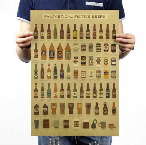 Poster - The Evolution Of Beer Poster