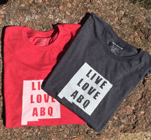 Short Sleeve Live Love ABQ Tee Shirt