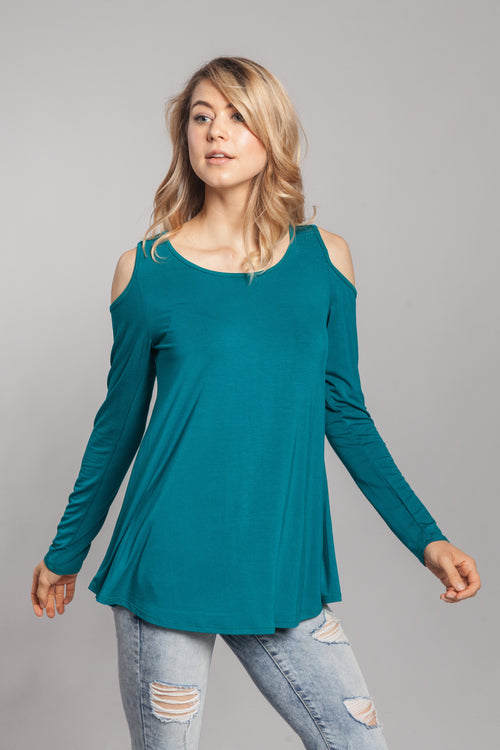 Candy Cold Shoulder Top