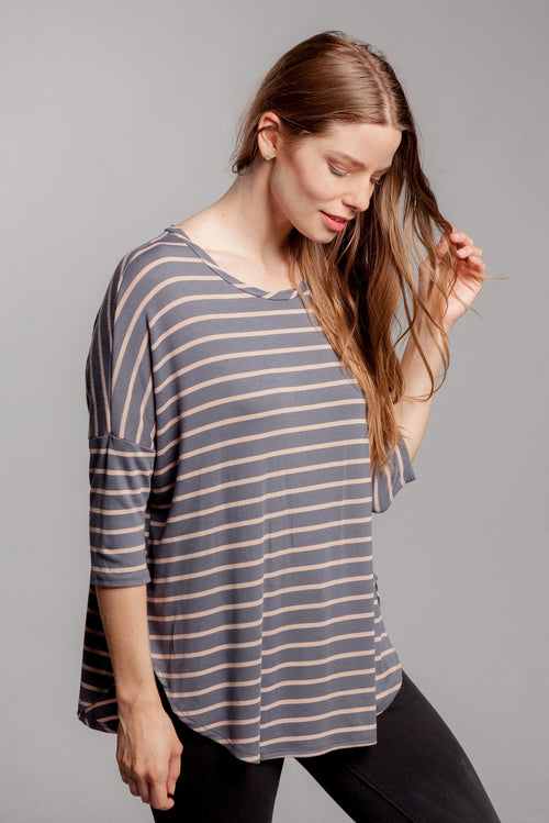 Abby Striped Top