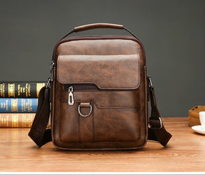 Business Crossbody Leather Bag