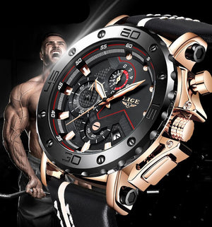 Big Dial Luxury Military Watch