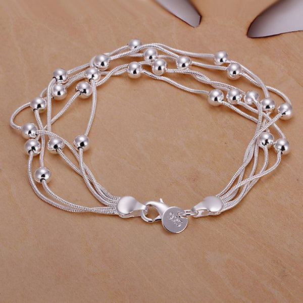 Stylish Silver Plated Bracelet