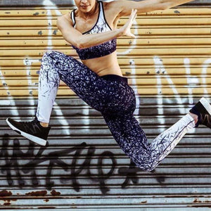 Printed Fitness Yoga Leggings