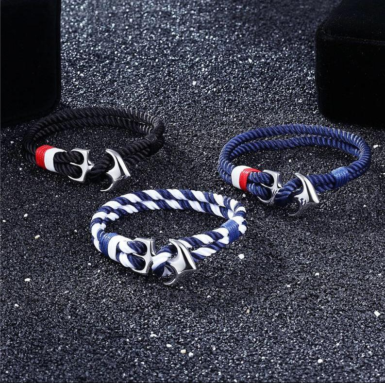Survival Anchor Bracelet